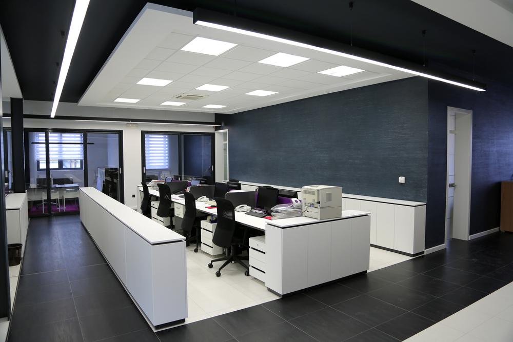 LED verlichting voor een kantoor