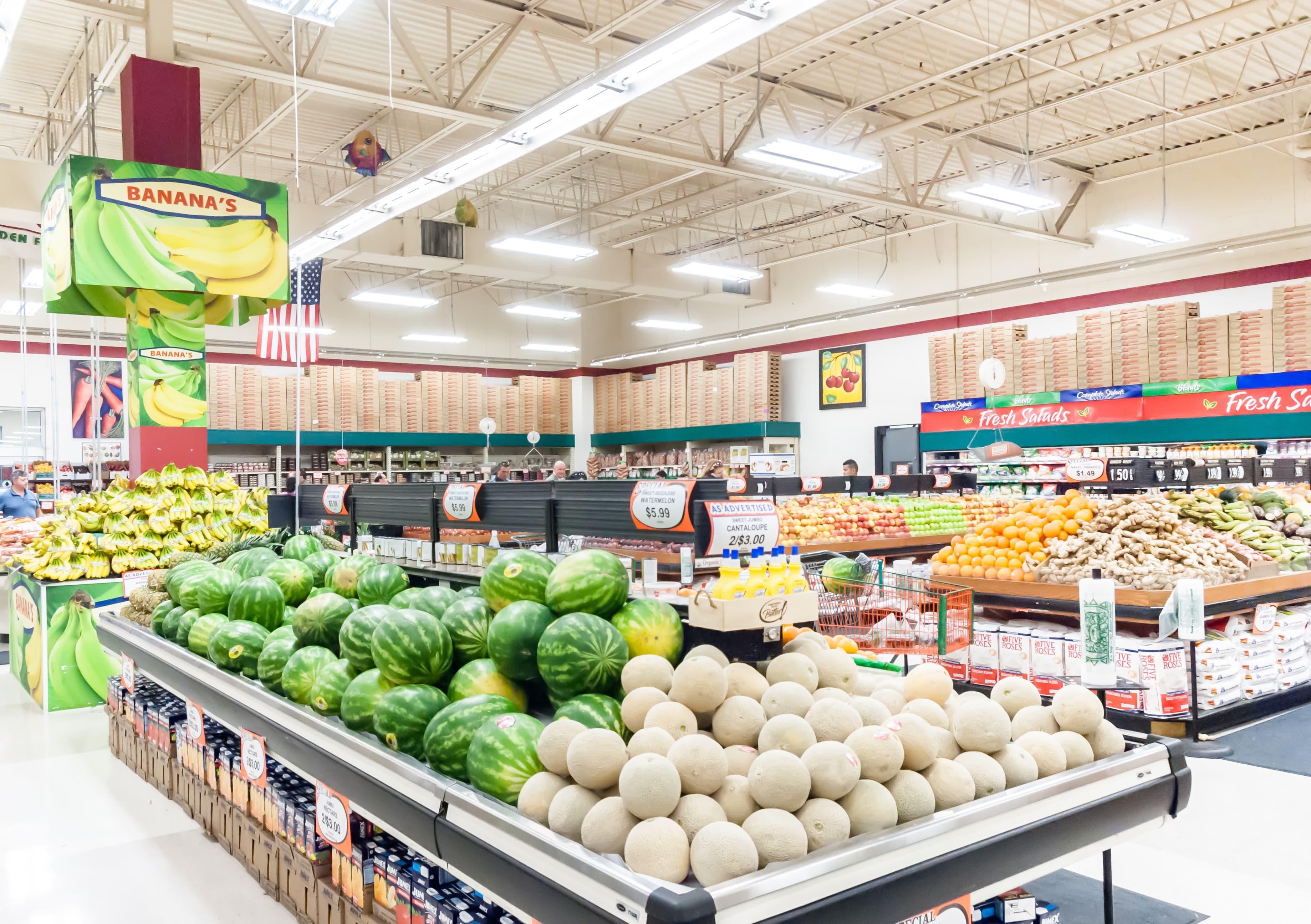 LED verlichting voor supermarkten