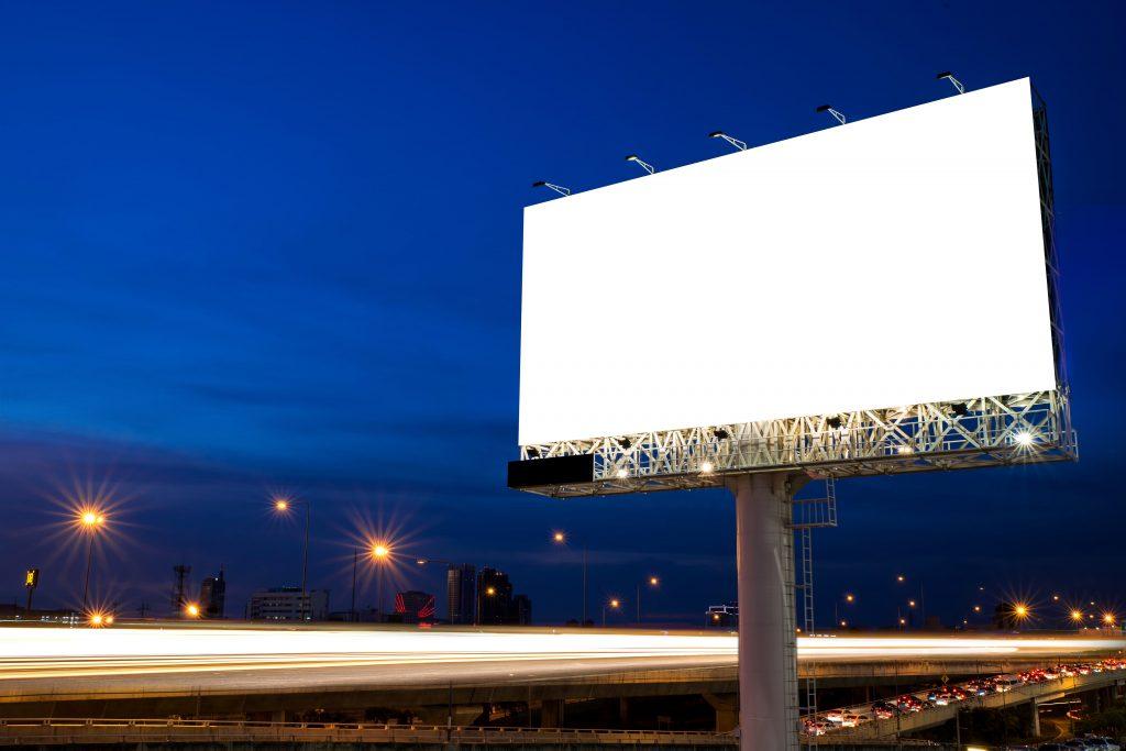 LED verlichting voor reclameborden