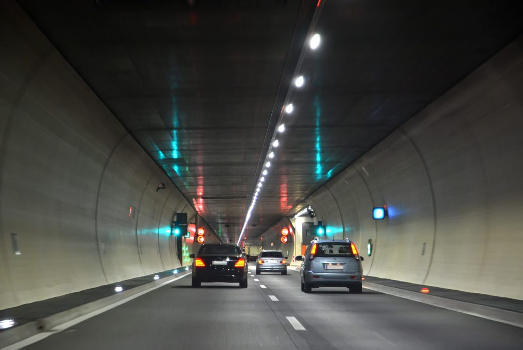 LED verlichting voor tunnels
