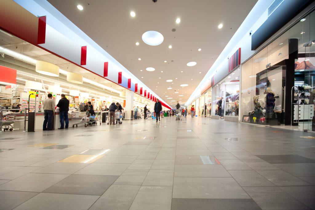 LED verlicting voor een winkel/winkelcentrum