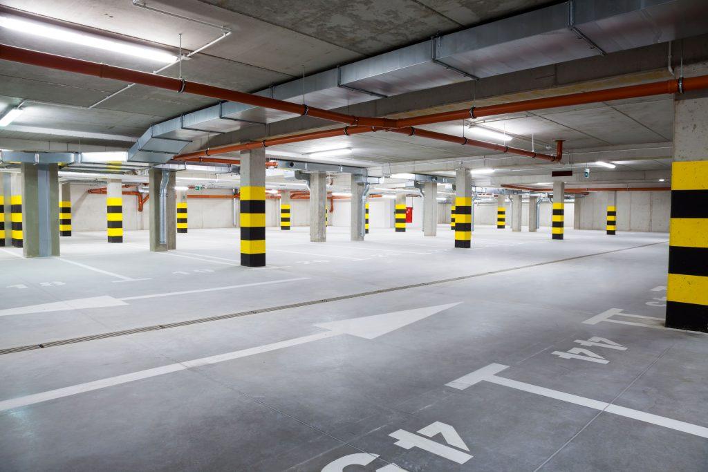 LED verlichting voor parkeergarages