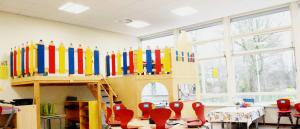 Belle Indirecte LED Panelen geïnstalleerd om school het kompas Groningen