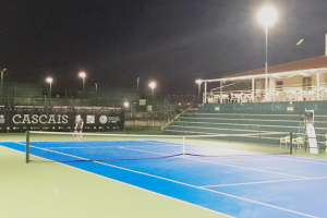 LED Emily Schijnwerpers geïnstalleerd om Lissabon Tennisclub