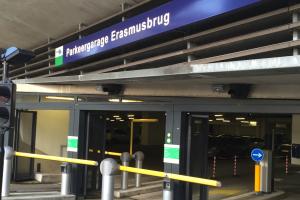 Parkeergarage Erasmusbrug Met BAIYILED LED verlichting