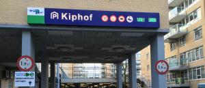 Parkeergarage Kiphof met BAIYILED LED verlichting