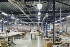 T8C LED buizen geïnstalleerd om Lampe technical textiles