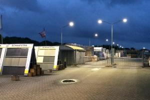 Baiyiled LED Straatverlichting geïnstalleerd om Schaafstra