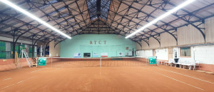 BAIYILED LED LIJNVERLICHTING geïnstalleerd om Royal Tennis Club