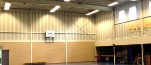 LED T8 Tubes geinstalleerd Eexterveen gymzaal