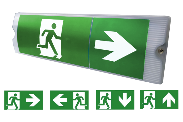 Trition emergency exit sign