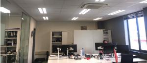 Belle indirect LED paneel geïnstalleerd op kantoor van Bosdalen