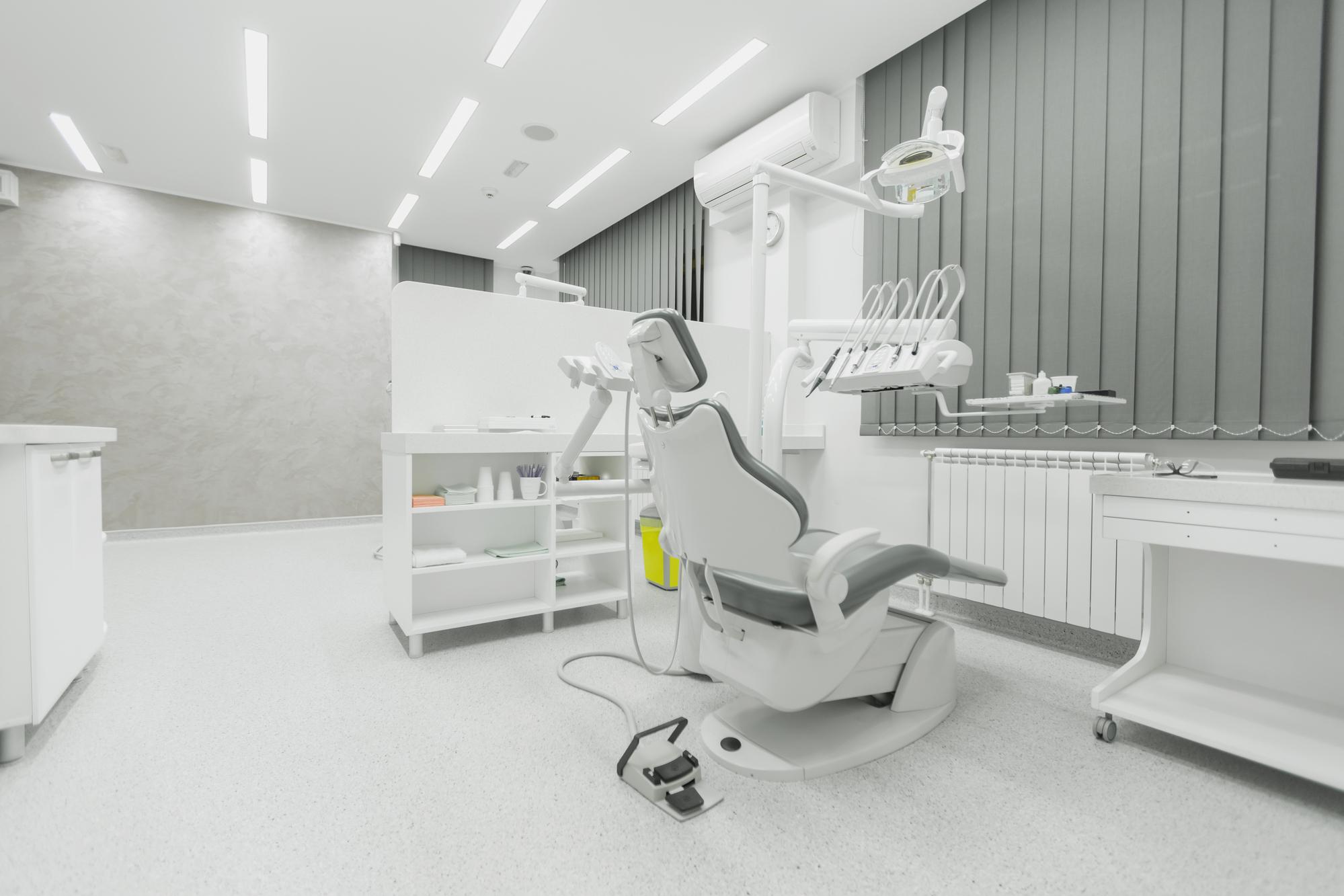 LED verlichting voor tandartspraktijk