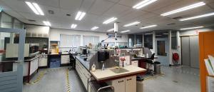 indirecte LED panelen geïnstalleerd om Biothane