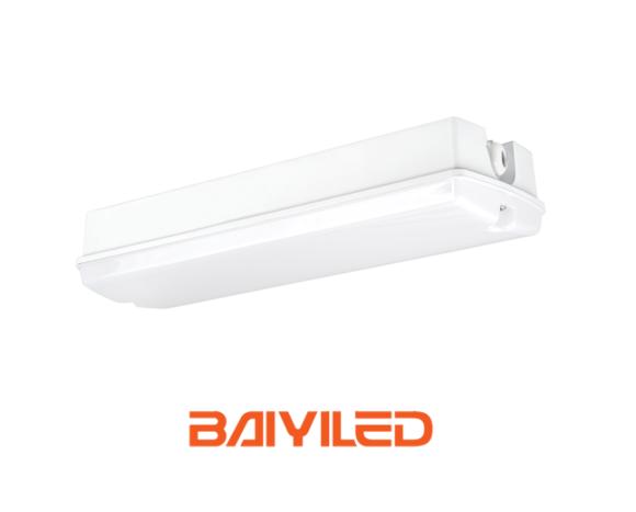 LED portiek Armatuur bewegingssensor, Nood en selftest