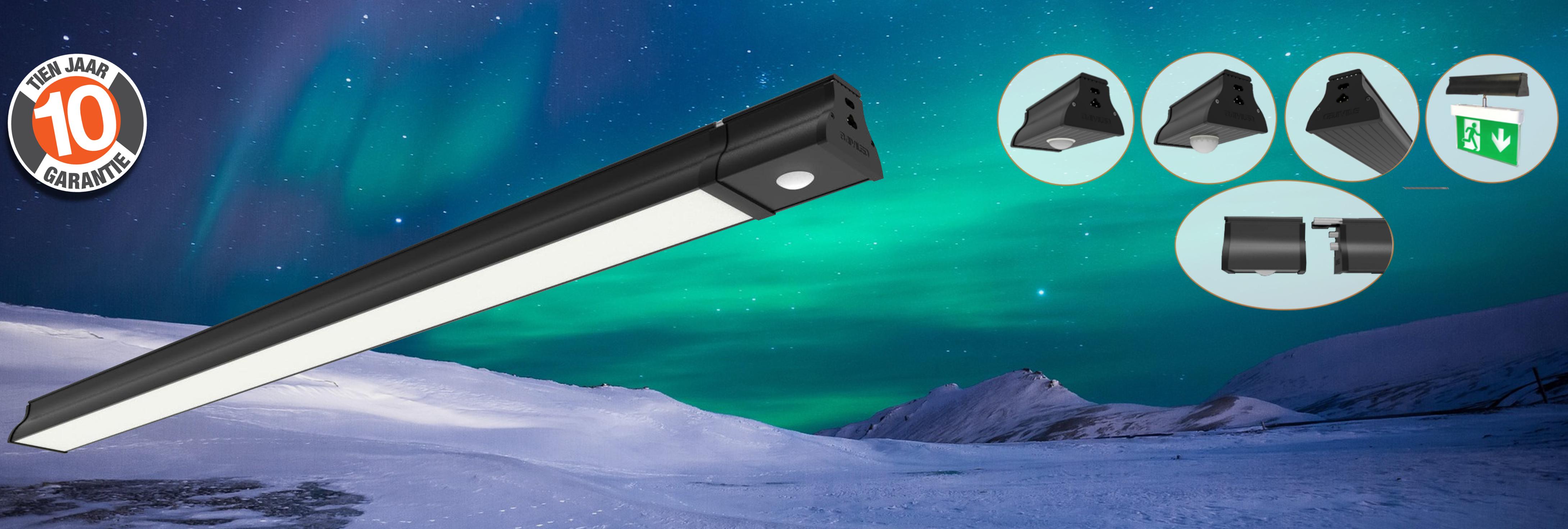 BAIYILED Aurora LED system met plugin & 10 jaar garantie